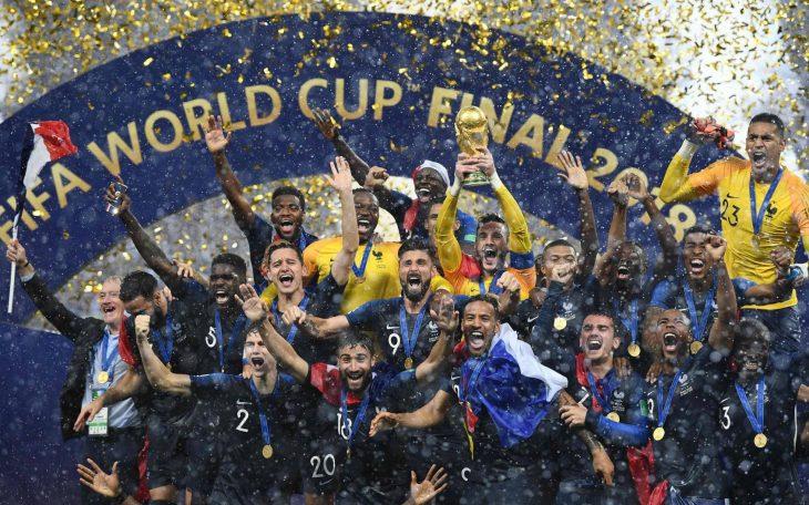francia campeón mundial 2018