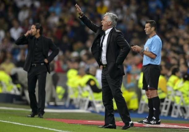Ancelotti y Cholo