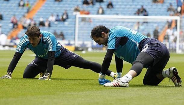 Casillas y Diego Lopez