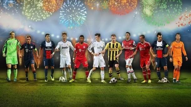 Equipo Uefa 2013