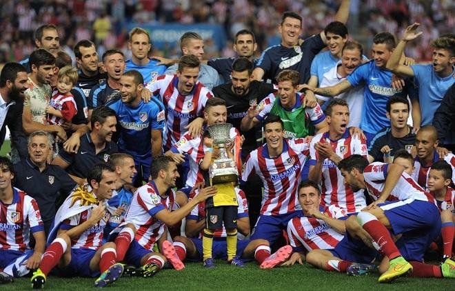 Atletico Madrid Supecampeon