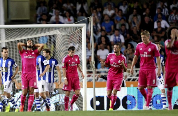 Real Madrid pierde en Anoeta