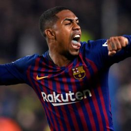 malcom celebra gol real madrid