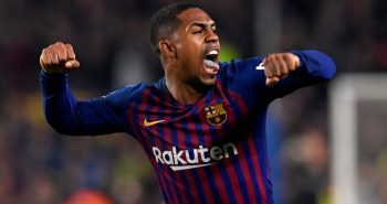 malcom celebra gol real madrid
