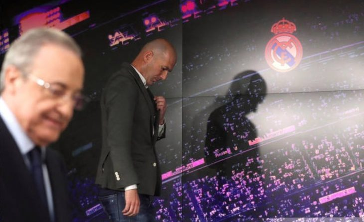zidane real madrid 2019